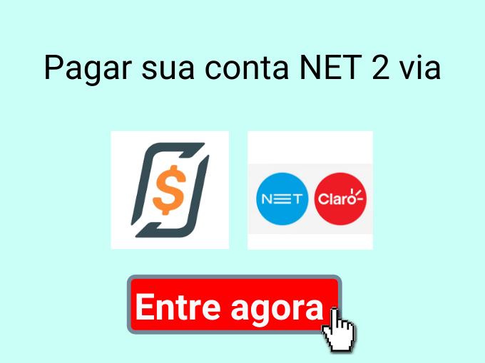 Pagar sua conta NET 2 via